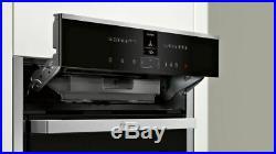NEFF N90 Slide&Hide B47VS34H0B Wifi Built In Electric Single Oven HA3470