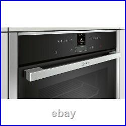 Neff B17CR32N1B N70 12 Function Electric Single Oven Stainless steel HW174789