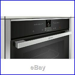 Neff B17CR32N1B N70 Built In Electric Single Oven Stainless steel B17CR32N1B