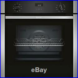 Neff B1ACE4HN0B 60cm Electric CircoTherm Single Oven £50 Cashback Offer