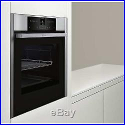 Neff B25CR22N1B Electric 71L Integrated Pyrolytic Single Oven Stainless Steel