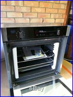 Neff B2ACH7HN0B N50 Built In 59cm Electric Single Oven Stainless Steel