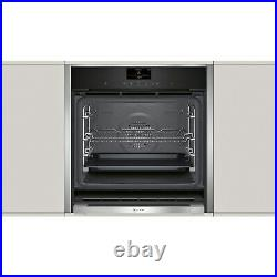 Neff B47CS34H0B N90 Slide & Hide 13 Function Touch Control Single Oven with Home