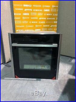 Neff B57CR22N0B N70 Slide Hide Electric Built-in Single Oven Stainless HW173529