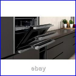 Neff B57CR23N0B N70 Slide & Hide 12 Function Pyrolytic Self Cleaning Electric Si