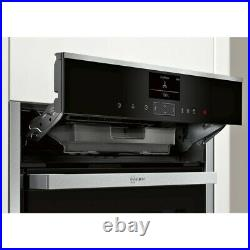 Neff B57VS24H0B N90 Slide & Hide Built In Electric Single Oven WiFi Pyrolytic