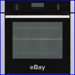 Neff B6ACH7HN0B Slide and Hide Built-In Single Oven, Stainless Steel