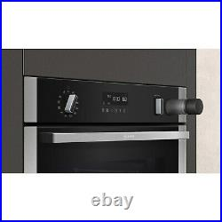 Neff N50 Slide & Hide Electric Single Oven with added Steam Function and Catalyt