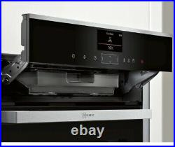 Neff N90 B57VS24H0B Single Built In Electric Oven