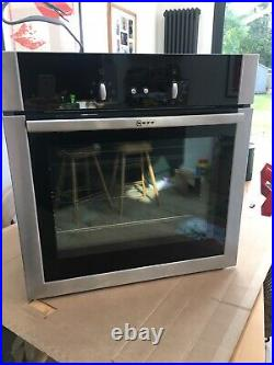 Neff Single Built-in Electric Oven Model B14M42N5GB Very Good Condition