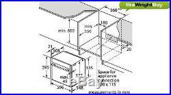 Neff Slide&Hide B47VS34N0B VarioSteam Built-in Single Steam Oven
