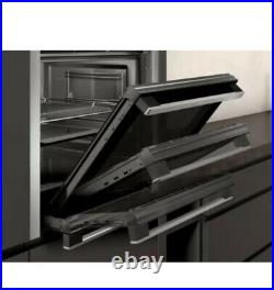 Neff Slide & Hide Built In Electric Single Oven Stainless Steel B3ACE4HN0B