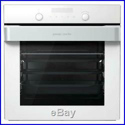 New Gorenje BOP747ORAW Built-in pyrolytic single oven White