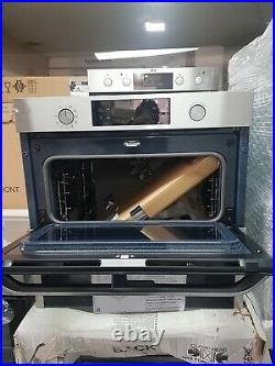 New Unbox Samsung Prezio Dual Cook NV75N5641RS Built In Electric Single Oven