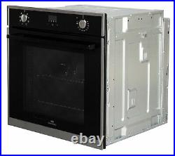 New World NWCMBOB Built In Single Electric Multifunction Oven Black
