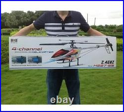 RC Helicopter V913 2.4G 4CH 70cm single-propeller Built-In Gyro RC Drone Toy