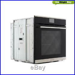 Rangemaster RMB610PBL/SS Single Built-in 10 Function Electric Pyrolytic Oven