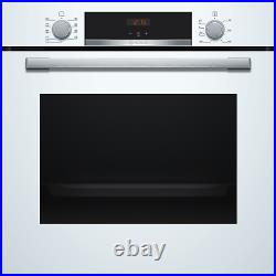 Refurbished Bosch HBS534BW0B Serie 4 60cm Single Built In Electric Oven