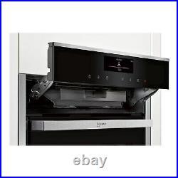 Refurbished Neff N90 B58VT68H0B 60cm Single Built In Electric Oven