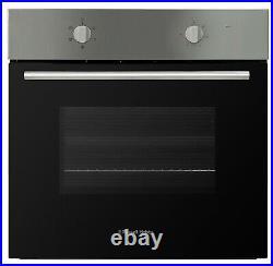 Russell Hobbs RHFEO6502SS Built-In 59.5cm Single Electric Fan Oven Black