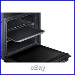 Samsung NV70F5787LB Prezio Dual Cook Built In 60cm A Electric Single Oven Black
