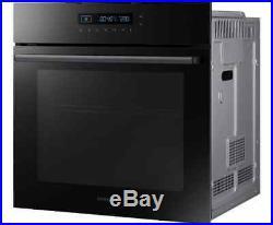 Samsung NV70H5587CB Prezio Built In 60cm A Electric Single Oven Black / Glass
