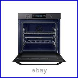 Samsung NV75K5571RM 75L Dual Cook Pyrolytic Electric Single Oven Matt Black -p