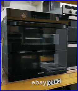 Samsung Prezio Dual Cook Flex NV75N5641RB Built In Electric Single Oven Black