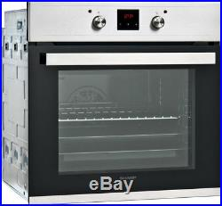Sharp K-60D22BM1 Built In 60cm A Electric Single Oven Black New