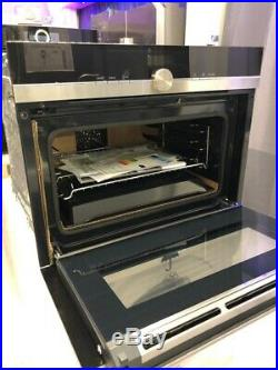 Siemens CB675GBS1B Built In Compact Pyrolytic Self Clean Electric Single Oven