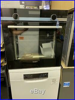 Siemens HB578A0S0B iQ500 Multifunction Built In Single Oven With Pyro