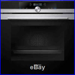 Siemens HB632GBS1B IQ-700 Built In 60cm A+ Electric Single Oven Stainless Steel