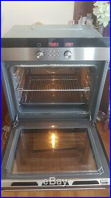 Siemens HBN750550GB multifunction single electric oven built in stainless steel
