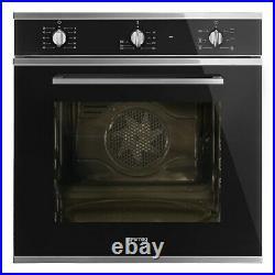 Smeg Cucina Multifuction Single Oven Black