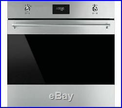 Smeg SF6372X Classic Built-in Electric Multifunction Single Oven (CK1608)