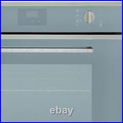 Smeg SF6400TVS Cucina Built In 60cm A Electric Single Oven Silver Glass New