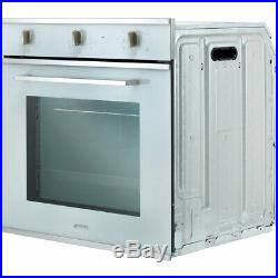 Smeg SF64M3VB Cucina Built In 60cm A Electric Single Oven White New