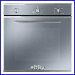 Smeg SF64M3VS Cucina Multifuction Single Oven Silver