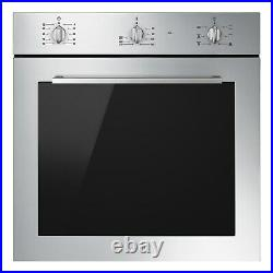 Smeg SF64M3VX Cucina Multifunction Single Oven Stainless Steel