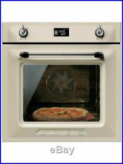 Smeg Victoria SFP6925BPZE Built-In Electric Single Oven CREAM