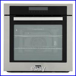 Stoves SEB602MFC Stainless Steel Single Built In Electric Oven 444410141