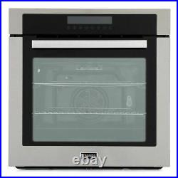 Stoves Single Oven SEB602MFC Single Built In Electric Oven, Stainless Steel