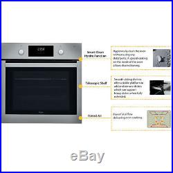 Whirlpool Absolute AKP745IX Built In Electric Stainless Steel Single Oven NEW