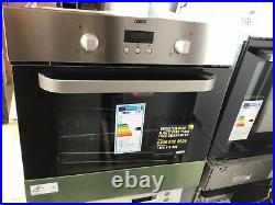 Zanussi ZOB343X Built In Fan Assisted Electric Single Oven Stainless Steel