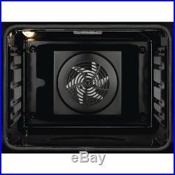 Zanussi ZOB35471BK Built In 59cm A Electric Single Oven Black New