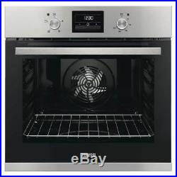 Zanussi ZOB35471XK'A' Rated Built in Electric Single Oven U42232