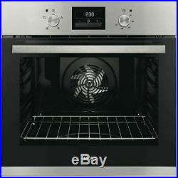 Zanussi ZOB35471XK Built-in Single Electric Oven, Stainless Steel wh 02