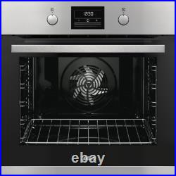 Zanussi ZOP37982XK A rated Built-in Single Pyrolytic Oven