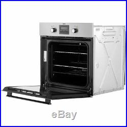 Zanussi ZZB35901XC Built In 59cm A Electric Single Oven Stainless Steel New